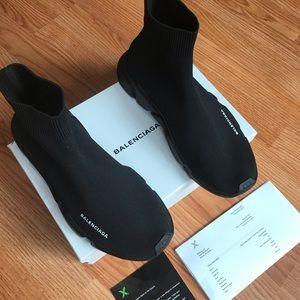 Balenciaga Shoes - Balenciaga Speed Trainer Black Black